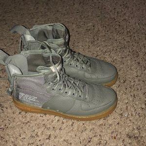 Nike hightop Air Force ones